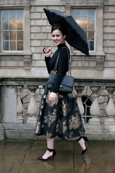 Street Style - London Collections: WOMEN AW14 - February 14 To February 18, 2014