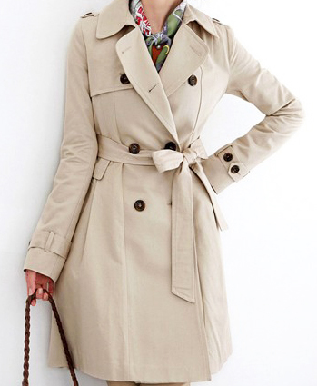 Slim lapel double-breated coatfrnt