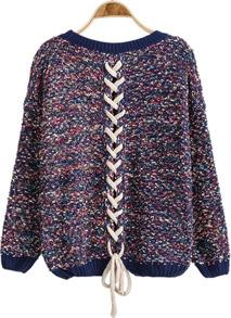 Petite bandage knit jumper bk