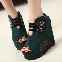 stitched-buckled-wedge-sandals