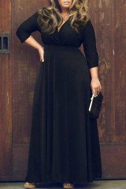 The Plunge Neckline dress