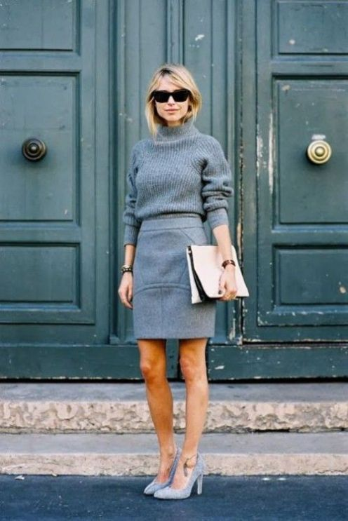 gray-sweater-mnochromatic-outfit